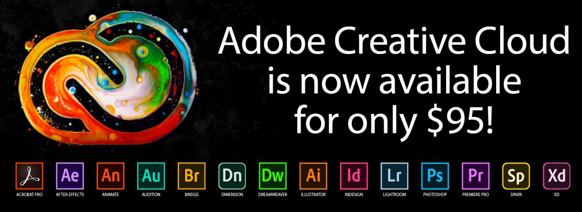 purchase adobe creative suite