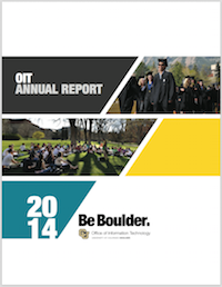 2014 OIT Annual Report Cover