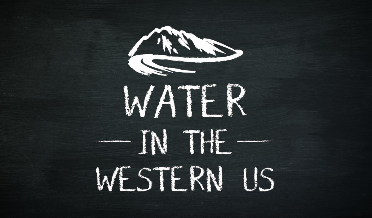 Water in the Western US icon