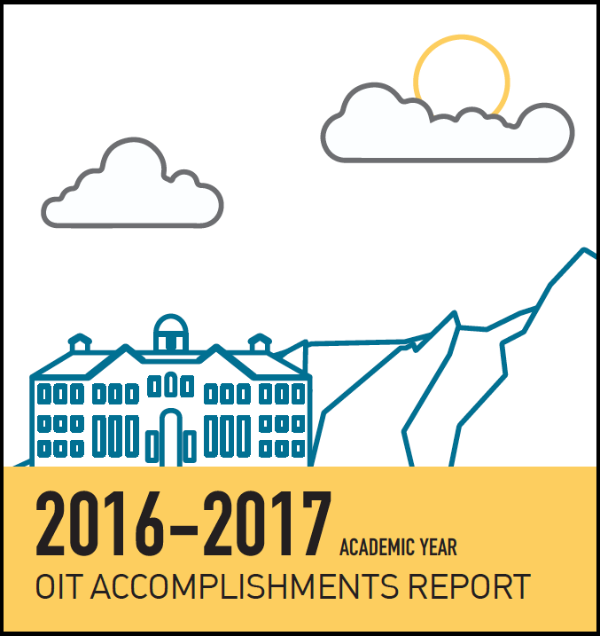 OIT Accomplishments Report icon