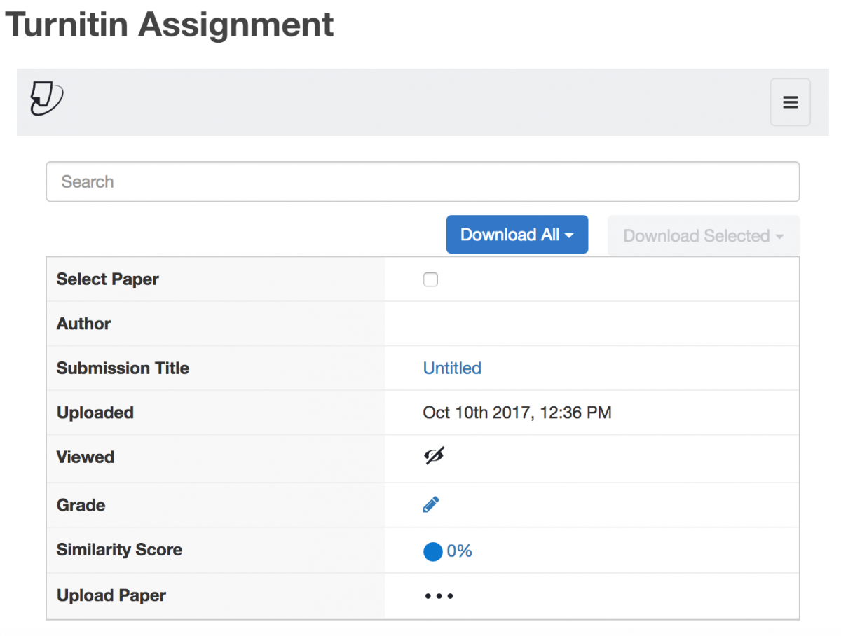 what percentage on turnitin is plagiarism