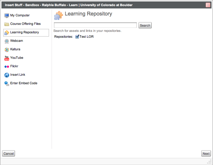Learning Repository Image