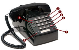 how to change name on avaya phone 5410