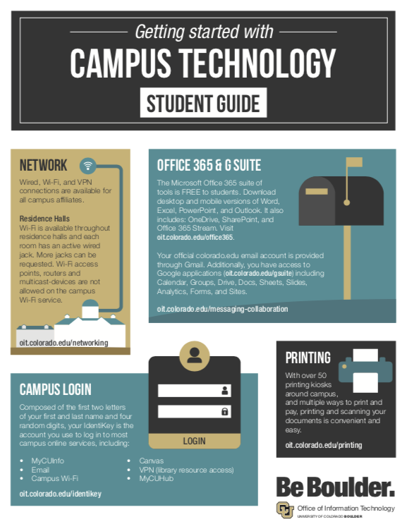 Campus Technology Student Quick Start Guide