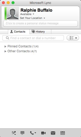 Office 365 - Set up Lync on Mac | Office of Information