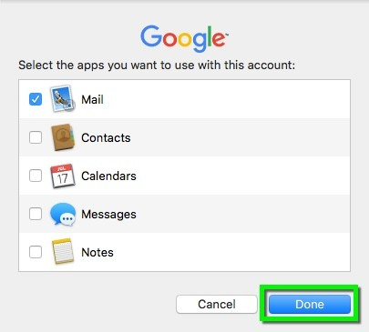 Gmail - Configure Apple Mail OS 10 9 and Newer | Office of
