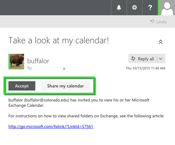 Outlook Web App - Assign Full Details for Shared Calendars | Office