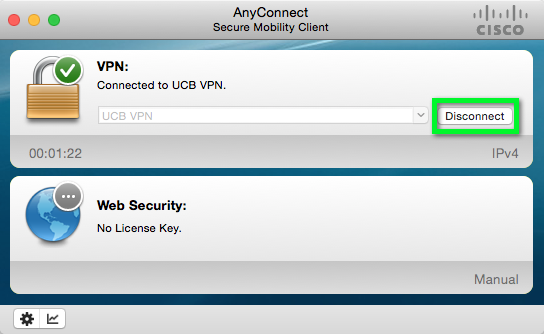 VPN - Setup and Connect using the AnyConnect App for Mac