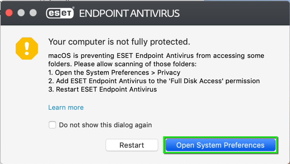 Install ESET Endpoint Antivirus | Office of Information Technology