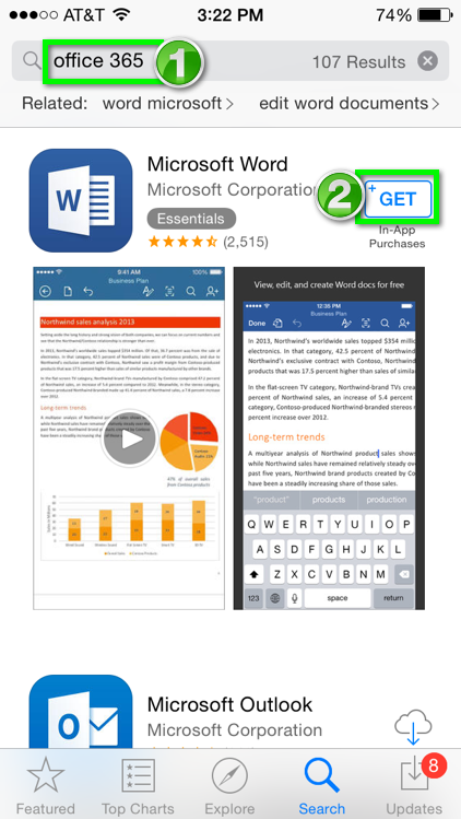 Office 365 - Install and Setup Office 365 apps for iOS | Office of