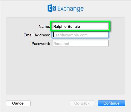 Office 365 - Apple Mail Configure (Mac OS X 10 9 - 10 10