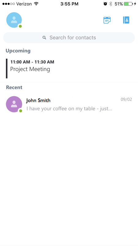 Office 365 - Set up Skype for Business on iOS | Office of