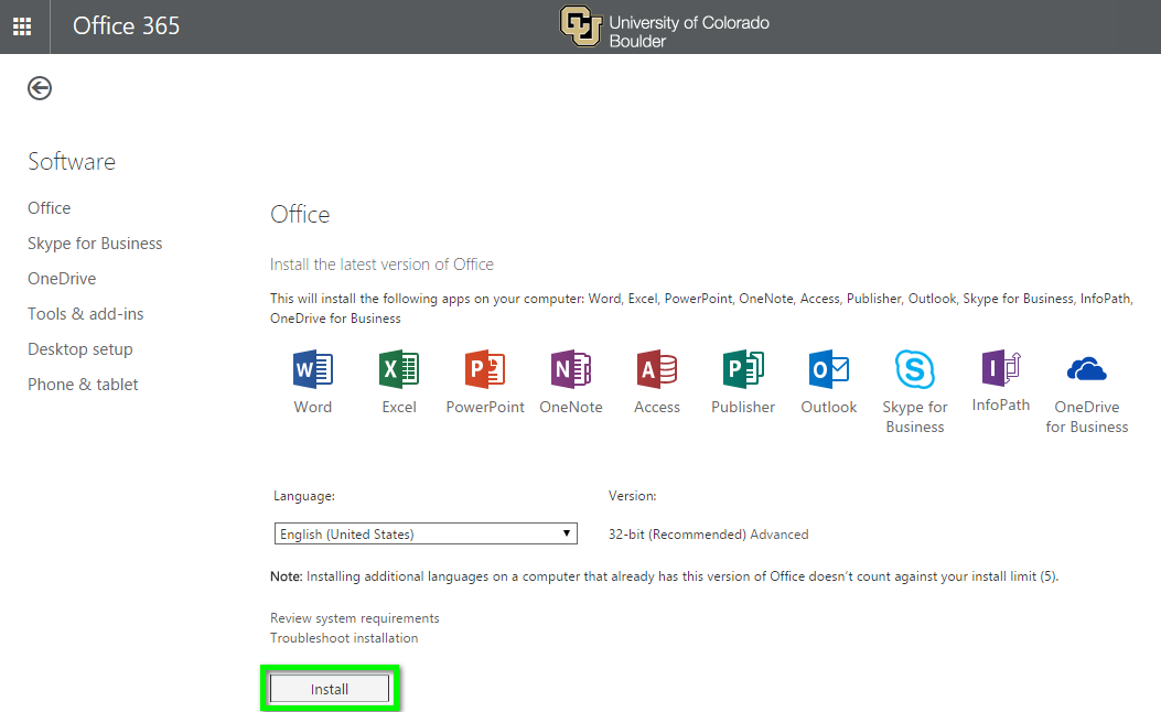 office 365 download microsoft office including skype