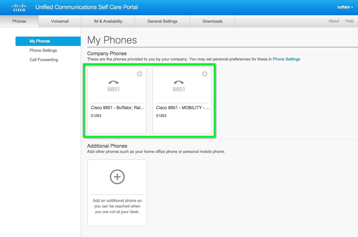 Cisco VoIP - Accessing Self Care Portal and Personal Directory