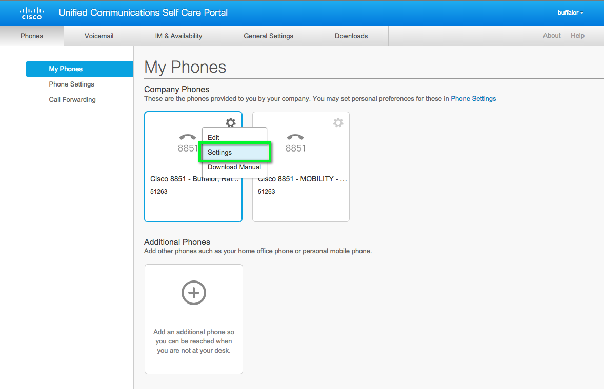 Cisco VoIP - Accessing Self Care Portal and Managing Speed Dial
