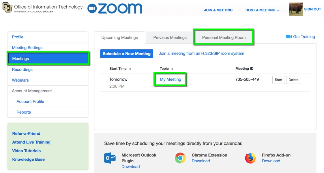 Zoom - Enable and Customize Waiting Rooms | Office of